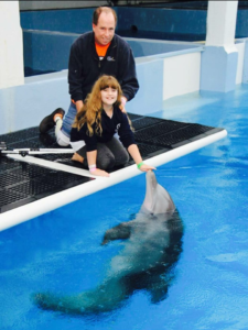 Winter the Dolphin and amputees